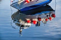 Réflexions de port Image stock