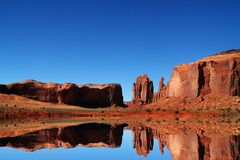 Réflexions de Redrock Images stock
