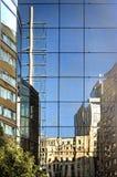 Réflexions de ville Photo libre de droits