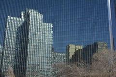 Réflexions de ville Photographie stock libre de droits
