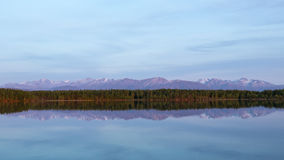Réflexions de Wasilla Photo stock
