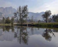 Réflexions de Yosemite Image libre de droits