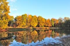 Réflexions en automne Image libre de droits