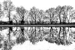 Réflexions rurales Image stock
