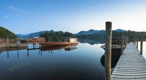 Réflexions, secteur anglais de lac Image libre de droits