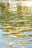 Réflexions sur l'eau photographie stock libre de droits