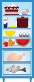Réfrigérateur Photographie stock