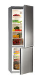 Réfrigérateur d'INOX image stock