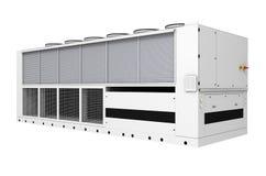 Réfrigérateur de gratuit-refroidissement industriel illustration libre de droits