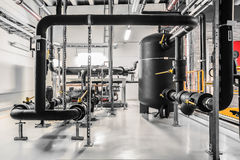 Réfrigérateur industriel Photos libres de droits