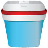 Réfrigérateur pour le déplacement Photographie stock libre de droits