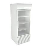 Réfrigérateurs du marché d'isolement sur le blanc Photos libres de droits