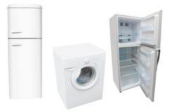 Réfrigérateurs et rondelle Images libres de droits