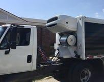 Réfrigération de camion et système de refroidissement photo libre de droits