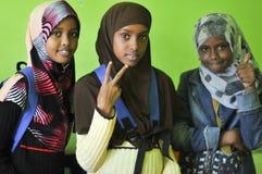 Réfugié de la Somalie Image libre de droits