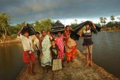 Réfugié environnemental photos libres de droits