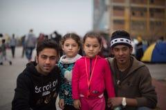 réfugiés Images libres de droits