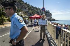 Réfugiés africains bloqués en Italie Images stock