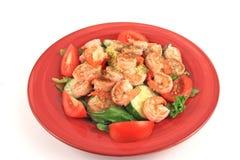 Régal de salade de fruits de mer photos libres de droits