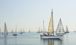 Régate de navigation, Varna Photo libre de droits