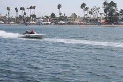 Régate de vitesse de Long Beach Photos stock