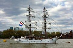 Régate grande de bateaux de rendez-vous Greenwich 2017 la Tamise Image libre de droits