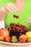 Régime de fruit Photo libre de droits