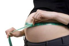 Régime de grossesse Photo libre de droits