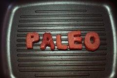 Régime de Paleo Image libre de droits
