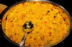 Régime de riz de chivda de Poha photo libre de droits