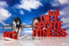 Régime de sport Photographie stock libre de droits