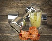 Régime de vitamine et de forme physique Images stock
