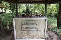 Régime du Cambodge - du Khmer Rouge Images stock