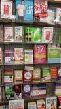Régime et livres vivants sains Photos stock