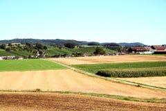 Région agricole Photos stock