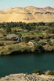 Région agricole par les dunes de sable? Photos stock