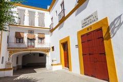 Région d'arène en Séville Photos libres de droits