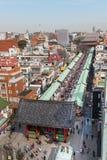 Région d'Asakusa Images libres de droits