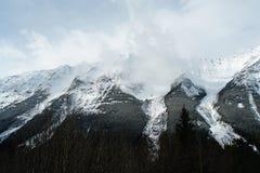 Région d'avalanche Image stock