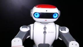 Région de Chelyabinsk, Chelyabinsk/Russie - 07 10 2019 : Le robot danse Clouse  clips vidéos
