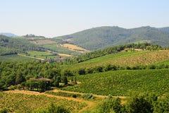 Région de Chianti photos stock