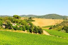 Région de Chianti photo stock