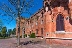 Région de chianti, Italie - 21 avril 2018 : Castello di Brolio, un château rural, palais et jardins, près de Sienne, région de la image libre de droits