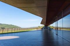 Région de chianti, Italie - 20 avril 2018 : L'établissement vinicole de Classico de chianti de nel d'Antinori photographie stock libre de droits