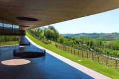 Région de chianti, Italie - 20 avril 2018 : L'établissement vinicole de Classico de chianti de nel d'Antinori images libres de droits