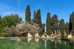 Région de chianti, Italie - 20 avril 2018 : Le château de Verrazzano en Greve dans le chianti, au coeur de la région de Classico  image libre de droits