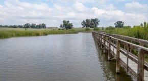 Région de conservation et de conservation dans le Texas Images stock