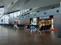 Région de embarquement d'aéroport de Danzig Image stock