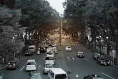 Région de Harajuku, Japon Image libre de droits