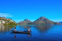 Région de lac Skadar, Podgorica, Monténégro - août 2014 photos libres de droits